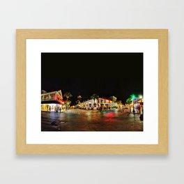Duval St Framed Art Print