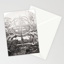 A bronze zodiacal sphere, Peking Observatory Stationery Cards