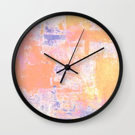 Abstract Serenity 16 Wall Clock