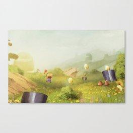 Plumber Summer Canvas Print