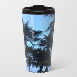 Palm trees at Sunway Lagoon Resort, Malaysia Metal Travel Mug