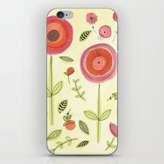 Rose garden iPhone Skin