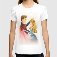 sleeping beauty T-shirts featuring Sleeping Beauty by Aprilstrange