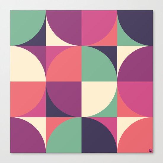Quarters Quilt 3 Canvas Print