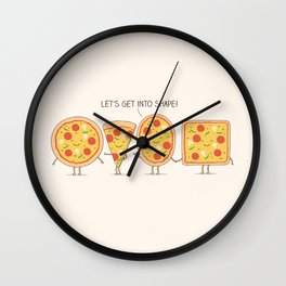 Get into shape! Wall Clock