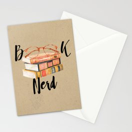 Book Nerd Stationery Cards
