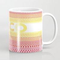 disco Mugs featuring Disco by Gaba Blua
