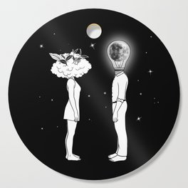 Day Dreamer Meets Night Thinker Cutting Board