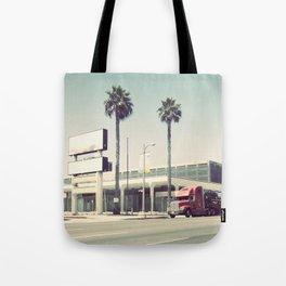 Truck on Vine Tote Bag
