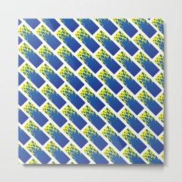 Water Tiles Metal Print