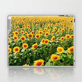 Field of Sunny Flowers Laptop & iPad Skin