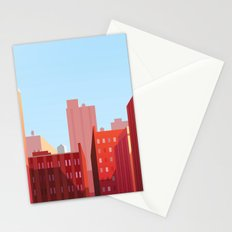 High Buildings City Stationery Cards