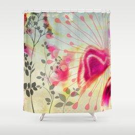 Efflorescence [5] Vintage Shower Curtain