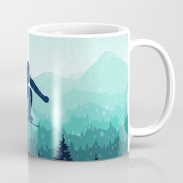 Snowboard Skyline II Coffee Mug