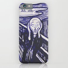 The Scream's Haze (dark blue) iPhone 6s Slim Case