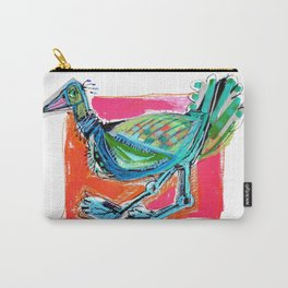 Bird on the Run Carry-All Pouch