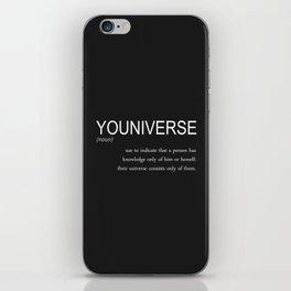 youniverse iPhone Skin