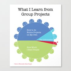 Group Projects Canvas Print