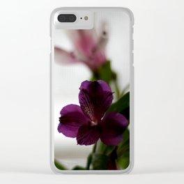 alstroemeria Clear iPhone Case