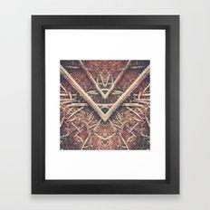 Bones of the fathers Framed Art Print