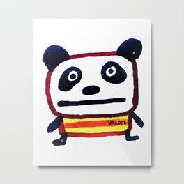 Hey Panda Metal Print