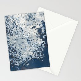 Partly cloudy Stationery Cards