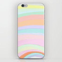 Pastel Rainbow - Unicorn Colors iPhone Skin
