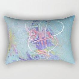 The Cellist Rectangular Pillow