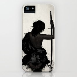 Female Samurai - Onna Bugeisha iPhone Case