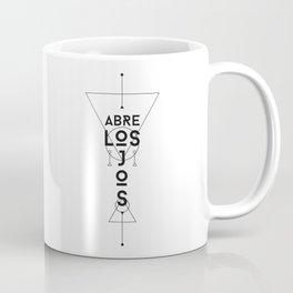 Abre Los Ojos Coffee Mug