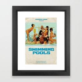 Swimming Pools Framed Art Print