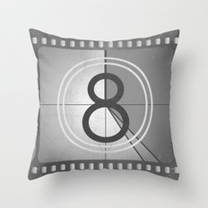 Countdown Film Throw Pillow