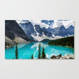 Lake Moraine Banff Leinwanddruck