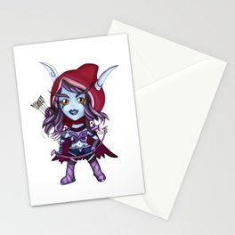 Sylvanas - Banshee queen mini Stationery Cards