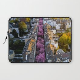 Colorful Street Laptop Sleeve
