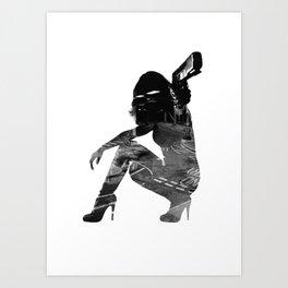Urban Assault Art Print