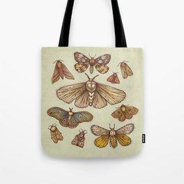 Moths Tote Bag