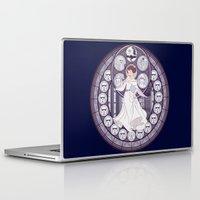 leia Laptop & iPad Skins featuring Leia by NicoleGrahamART
