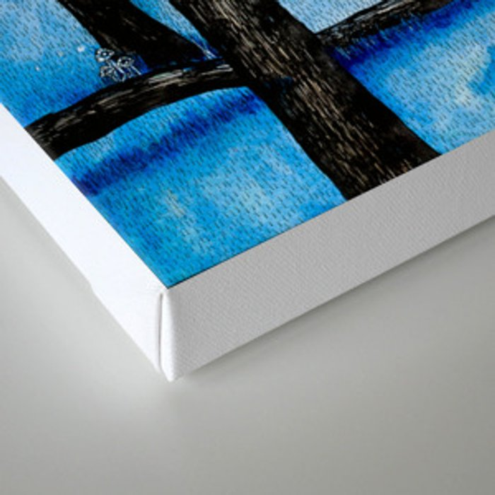 Naked Yearning Canvas Print
