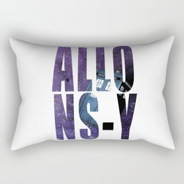 Doctor Who Allons-y Rectangular Pillow