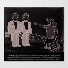 Gay Marriage Canvas Print