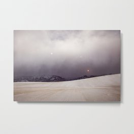 Explorations with Space: No. 6 Metal Print