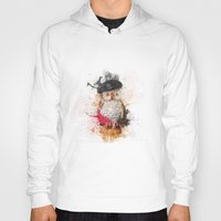 spain Hoodies featuring Spain Owl by Msimioni