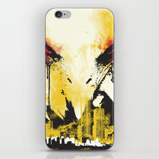 Eagle Eye Watching iPhone & iPod Skin