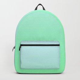 BIG WAVES - Minimal Plain Soft Mood Color Blend Prints Backpack