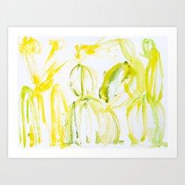 Tequila Plants Art Print
