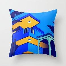 Jardin Majorelle Throw Pillow