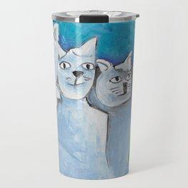 South Dakota Cat Travel Mug