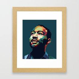 John Legend - Mad4U Framed Art Print