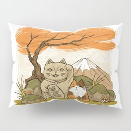 Maneki Neko Pillow Sham